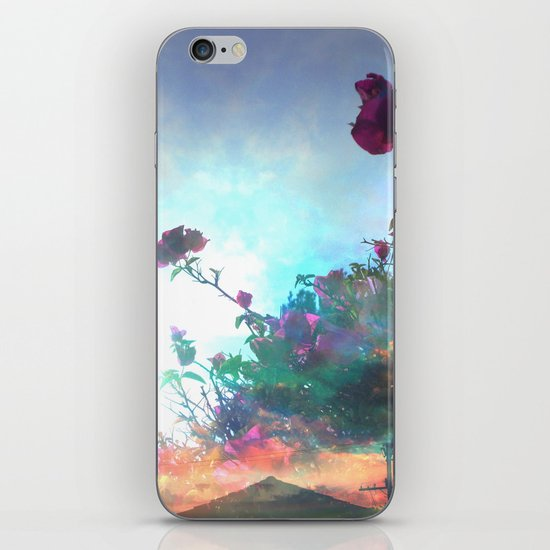 Storm of a Green Thumb iPhone & iPod Skin
