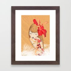 Sharinbai Framed Art Print
