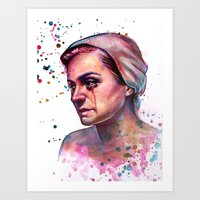 Painting From YouTube Tu… Art Print