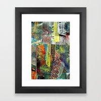 Layered 1 Framed Art Print