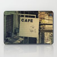 Cafe The Wall iPad Case