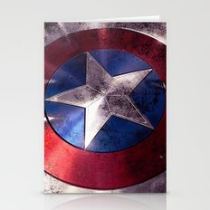 SHIELD CAPTAIN Stationery Cards