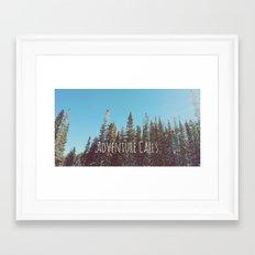 Adventure Calls Framed Art Print