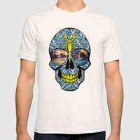 DEAD SKULL  Mens Fitted Tee Natural SMALL