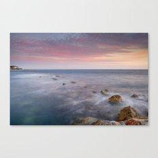 Pink seasunset Canvas Print