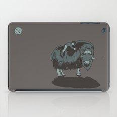 Muskox by moonlight iPad Case