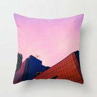 Finely Roofed Throw Pillow