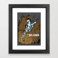 The Belchies Framed Art Print