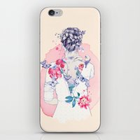 Undress me iPhone & iPod Skin