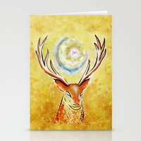 Spirit Stag Stationery Cards