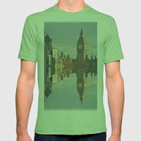 London Mens Fitted Tee Grass SMALL