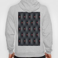 Black Leather With Red J… Hoody