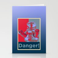 Danger!!!! Stationery Cards