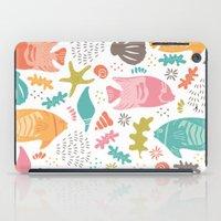 Retro Fish iPad Case