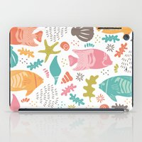 Retro Fish iPad Case