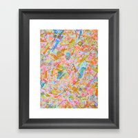 Seahorse Jockey Framed Art Print