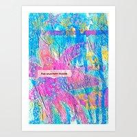 For Whatever Reason Art Print