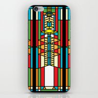 FL Wright Cubic Design iPhone & iPod Skin