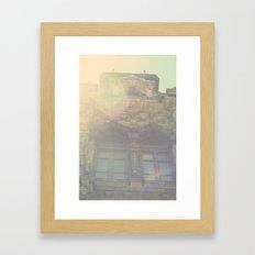 Sunny Ornament Framed Art Print