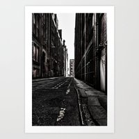 China Lane MANchester Art Print