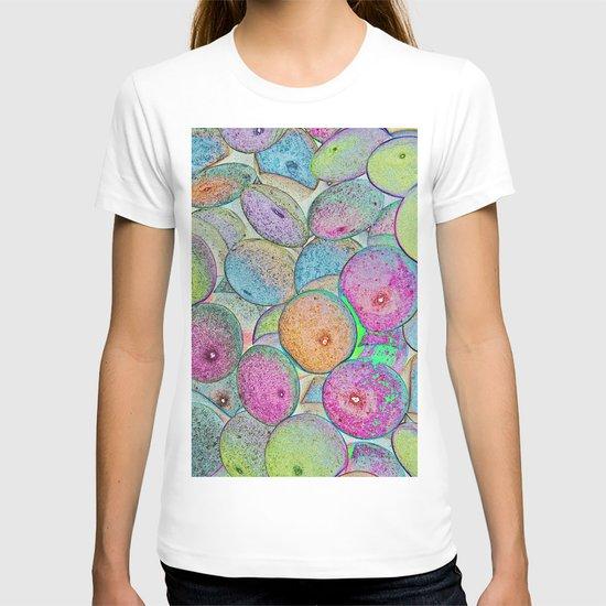 Pastel Abstract T-shirt