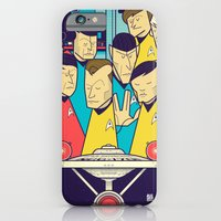 iPhone Cases featuring Star Trek by Ale Giorgini