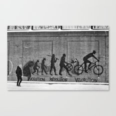 Velorution Canvas Print