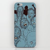 Everyone you know is dead iPhone & iPod Skin