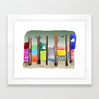 Imaginary Adventure Framed Art Print