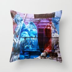 City Of Angels - Palermo… Throw Pillow