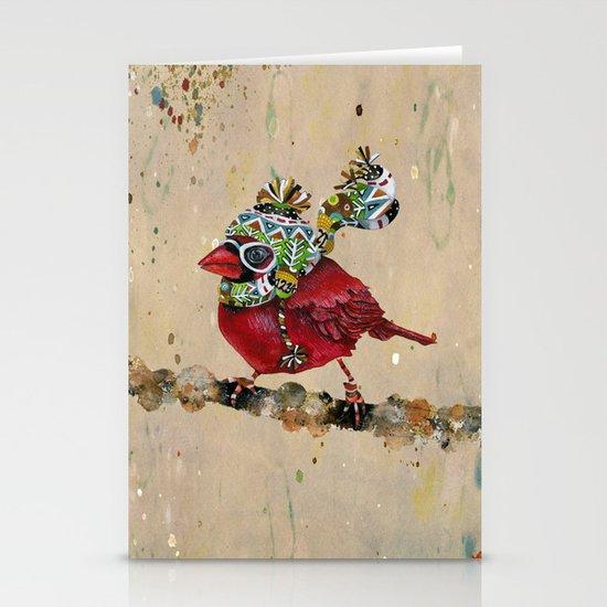 Cardinal Blaze 2 Stationery Card