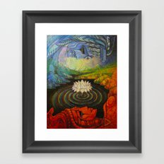 Earth-and-Sky Framed Art Print