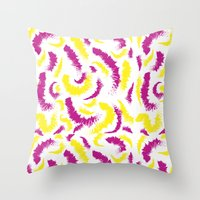 Full Colours Collection, yellow and pink  Summer 2013  Throw Pillow