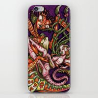 Mentalice And The Queen … iPhone & iPod Skin