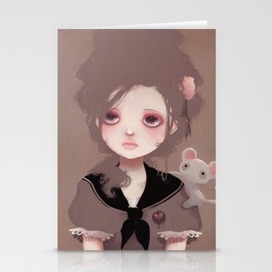 Emma (2011 version) Stationery Card
