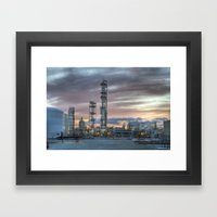 Industrial 5  Framed Art Print