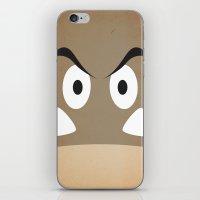 minimal shroom iPhone & iPod Skin