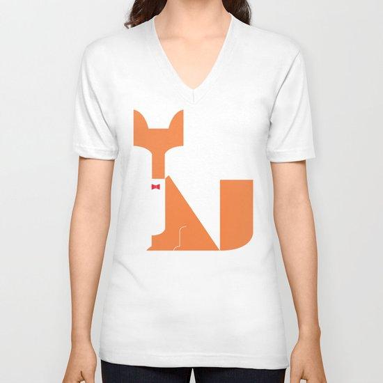 Le Sly Fox V-neck T-shirt