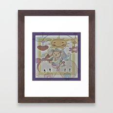 Cabsink16DesignerPattern… Framed Art Print