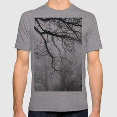 Fog Mens Fitted Tee Athletic Grey SMALL