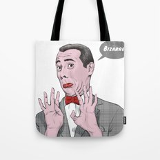 Pee Wee Herman #1 Tote Bag
