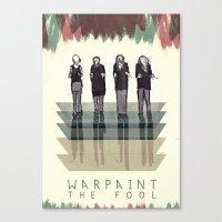 Warpaint Canvas Print