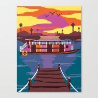 Cruising Canvas Print