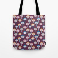 Pattern Project #41 / Mushrooms Tote Bag