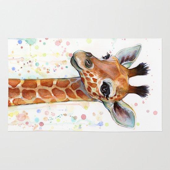 Giraffe Baby Area & Throw Rug