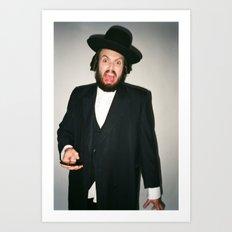 Rabbi Carlos Art Print