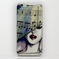 Sweet Music iPhone & iPod Skin