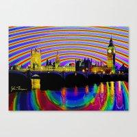 Big Ben fancy Canvas Print
