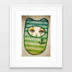 Sea Soul Framed Art Print