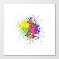 Stains Canvas Print